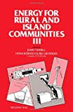 img - for Energy for Rural and Island Communities III: Proceedings book / textbook / text book