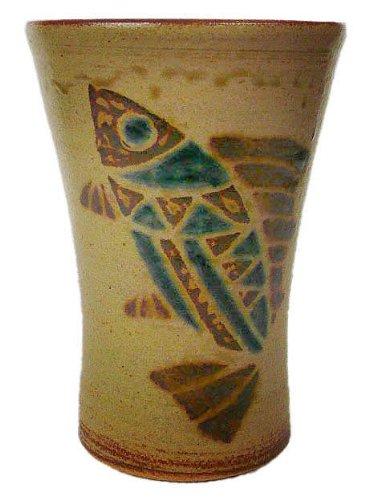 ビアマグ 魚紋