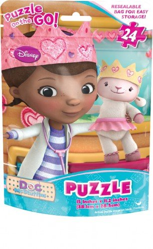 Doc McStuffins Jigsaw Puzzle On The Go! 24 Pieces