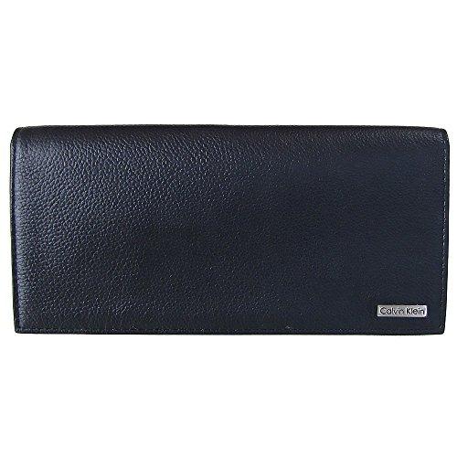 (カルバンクライン) Calvin Klein 長財布(小銭入れ) ブラック 79219 [並行輸入品]