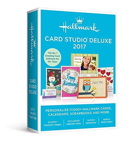 Hallmark Card Studio Deluxe 2017 (Home Care Software compare prices)