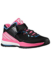 Adidas Men's RG3 Energy Boost Training Entrainement Black/Pink/Blue Basketball Shoes