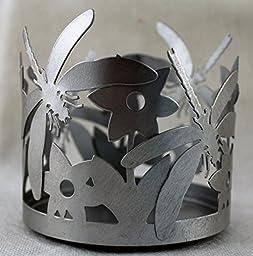 Yankee Candle Silver Dragonfly Jar Holder