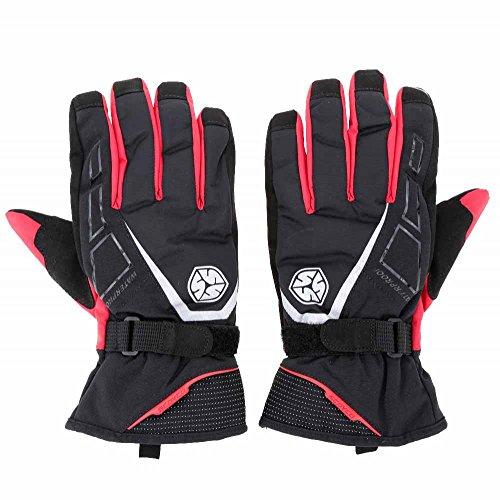 Scoyco Gloves 1 Pair Long Cuff Winter Waterproof Windproof Thermal Motorcycle Racing Gloves Outdoor Activities Gloves