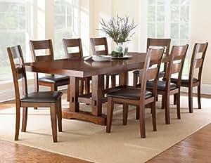 Amazon Com Steve Silver Company Zappa Dining Table With