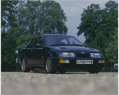 Photographic Print of Ford Sierra Cosworth RS500