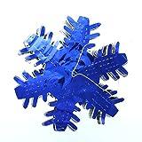 Christmas Blue & Silver Snowflake Garland