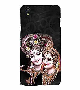 Radha Krishna 3D Hard Polycarbonate Designer Back Case Cover for OnePlus X :: One Plus X :: One+X