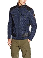 Geographical Norway Chaqueta Guateada (Azul)