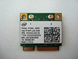 New Intel WiFi Link 5100 Half Size Wireless MINI PCIE Card 512AN_MMW 802.11a/b/g/n 2.4 GHz and 5.0 GHz 300 Mbps