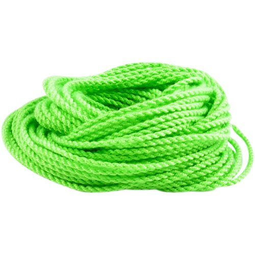 Pro-poly string / Ten (10) Pack of 100% Polyester YoYo String - Neon Green - 1