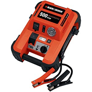 Vector Black & Decker JUS500IB 500 Amp Jump Starter with Inflator at Sears.com