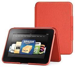 Amazon Kindle Fire HD スタンド型レザーカバー、 柿色 (Kindle Fire HD 専用)