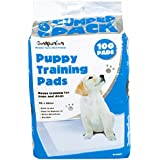 New 100 Large Puppy Training Pads Dogs Toilet Absorbent Mat 60 x 60cm Shopmonk