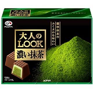 不二家 大人のルック(濃い抹茶) 8粒×5箱