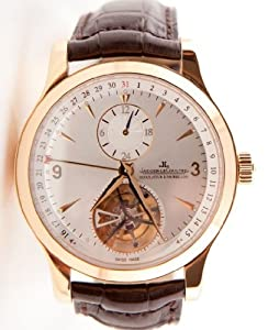 Jaeger-Le Coultre Master Tourbillion 18K Rose Gold Men's Watch
