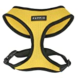 Puppia Soft Dog Harness, Yellow, Medium
