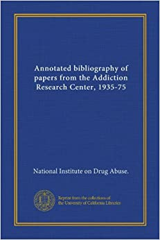 addiction research papers