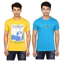 Strak Cotton Men's Casual T-Shirt (STR2049_XL)