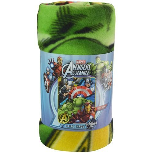 "Marvel's Avengers Defend Earth Fleece Throw - 46""x 60"""