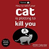 The Oatmeal 2016 Wall Calendar: How To Tell If Your Cat Is Plotting to Kill You