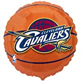 Cleveland Cavaliers Basketball Foil Balloon