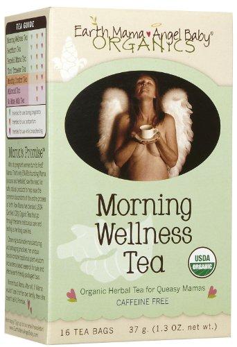 Earth Mama Angel Baby Organic Morning Wellness Tea, 16 teabags, 6 pack