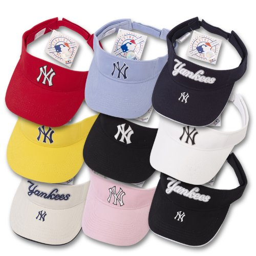NY Yankees MLB Baseball Sun Visor Caps