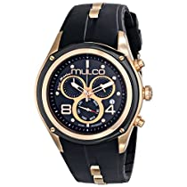 MULCO Unisex MW1-29902-025 Analog Display Swiss Quartz Black Watch