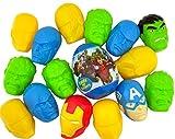 Pack of 17 Marvel Superheros The Avengers Candy Filled Eggs