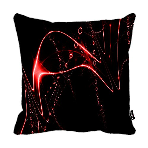 i-famuray-federa-cuscino-red-sparkly-curves-design-zippered-cushion-18x18-inches