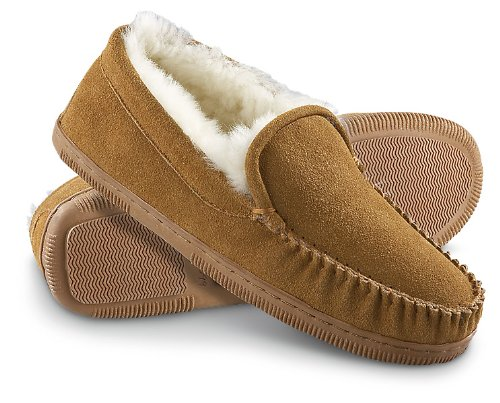 Cheap Men's Staheekum® Gold Moc Slippers Wheat (B003AXM3NG)