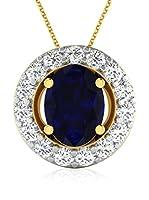 Diamant Vendome Conjunto de cadena y colgante DVP8525 Oro Amarillo