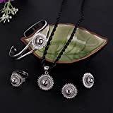 Ethiopian-Jewelry-White-Gold-Plated-Habesha-Wedding-Five-PCS-African-Jewelry-Sets
