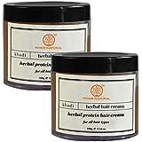 Khadi Herbal Protein Hair Cream- 100g (Set Of 2)