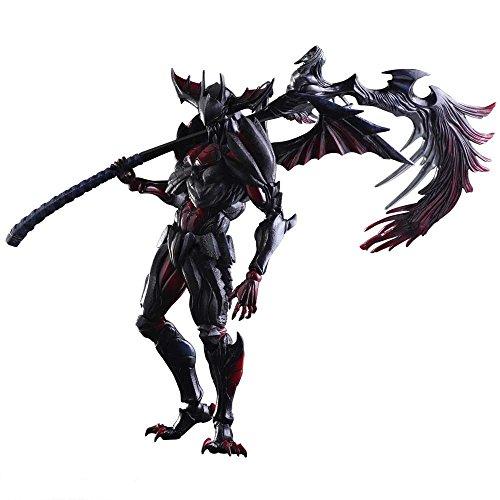 Monster Hunter X(Cross) PLAY ARTS改 ディアボロス装備(レイジシリーズ) PVC製 塗装済み可動フィギュア
