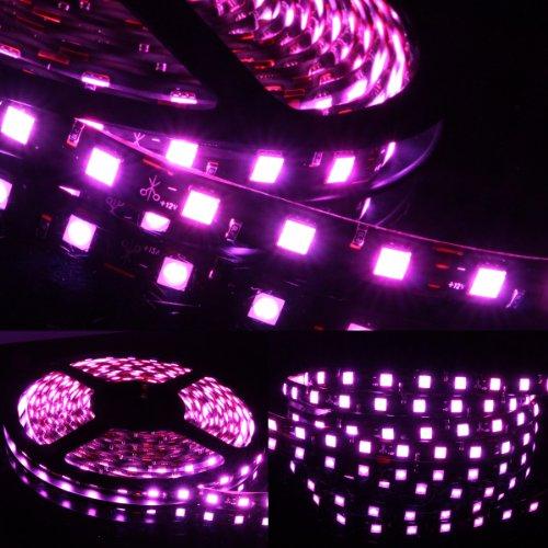 5M Meter 16 Ft Feet Roll 5050 Smd Led 300 Leds Waterproof Flexible Light Strip - Pink