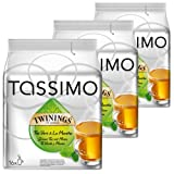 Tassimo Twinings Green Tea & Mint, Pack of 3, 3 x 16 T-Discs