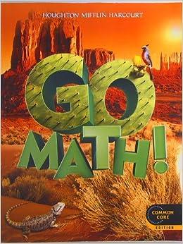 Amazon.com: GO MATH! Grade 5 Common Core Edition Isbn ...