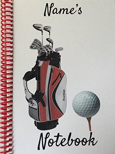 a-personalised-gift-golf-themed-a5-notebook-any-name-or-comment-printed-on-the-front-cover
