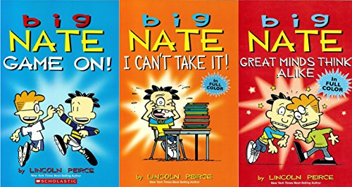 Big Nate Comic 3-Pack : Includes: Big Nate Game On! / Big Nate I Can't Take It / and Big Nate Great Minds Think Alike (Big Nate Game On compare prices)
