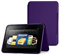 "Amazon Kindle Fire HD 8.9"" Standing Leather Case, Royal Purple (will not fit HDX models) by Amazon Digital Services, Inc"