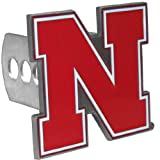 NCAA Nebraska Cornhuskers Trailer Hitch Cover, Class II & III