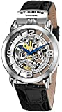 Stuhrling Original Men's 165F.33152 Winchester General Automatic Skeleton Black Leather Watch