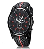 iSweven isweven Sports fashionable waterproof latest exclusive watch Analogue Black Unisex Wrist Watch W1021bb