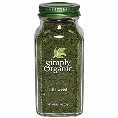 Simply Organic Dill Weed Cut & Sifted Certified Organic, 0.81-Ounce Containers (Pack of 3) by Simply Organic