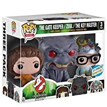 Pop! Movies, Ghostbusters (1984), The Gatekeeper, Zuul, and The Key Master Vinyl Figure Exclusive 3-Pack