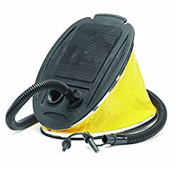 Foot pump for easily inflates air in inflatable Sofa or bed
