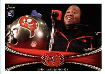 2012 Topps Football Card # 21 Eric LeGrand RC - Tampa Bay Buccaneers (RC - Rookie Card) (NFL Trading Card)