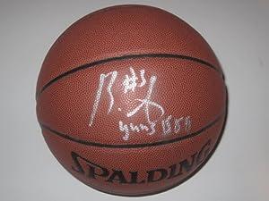 Brandon Jennings Milwaukee Bucks Signed Autographed Basketball Authentic Certified...